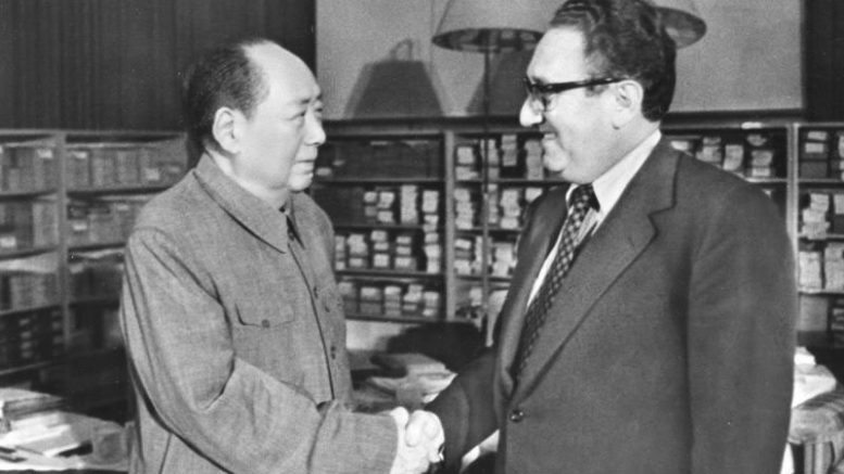 Kissinger and Mao