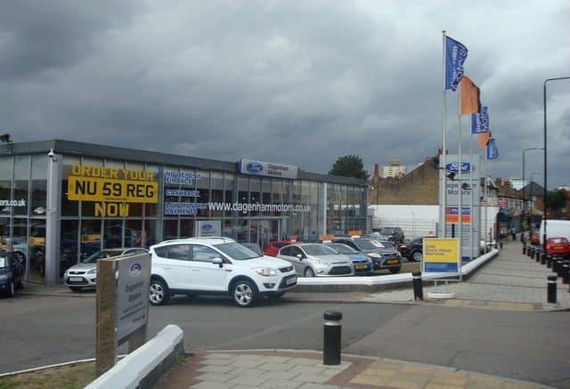 London car dealer