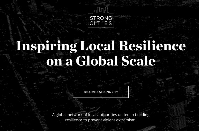 Strong Cities Web Site