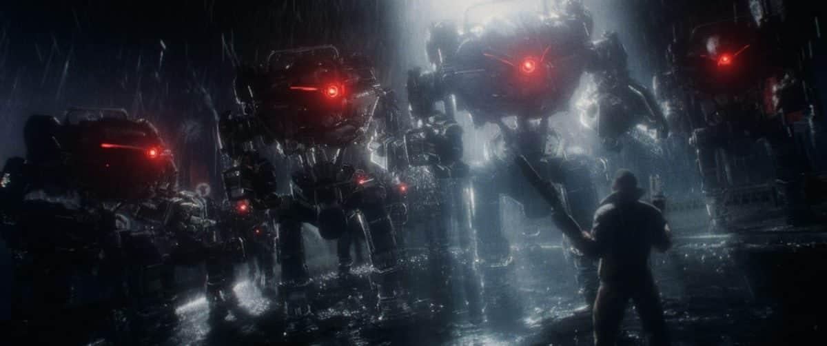 evil robots