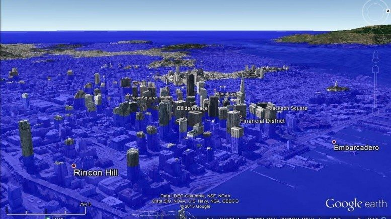 Atmospheric Scientist Shreds Rising Sea Level Propaganda And - Rising oceans map