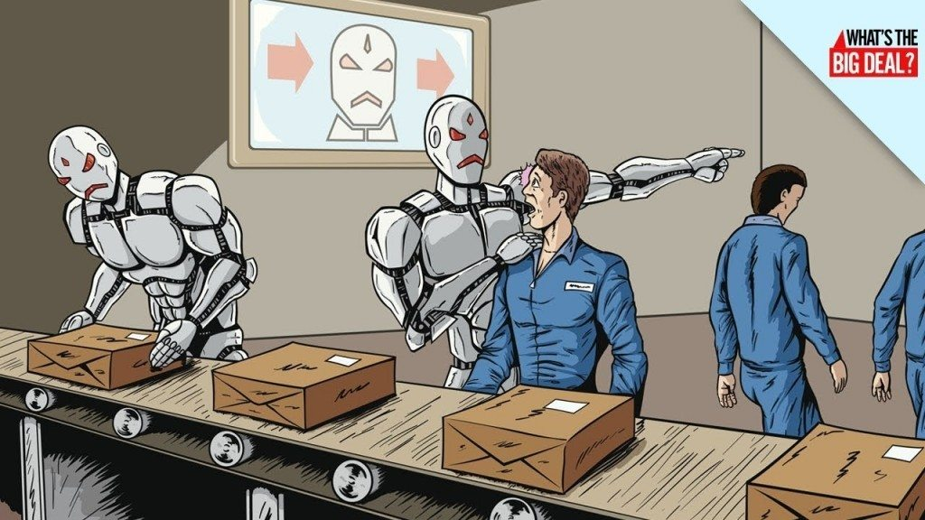 Expert: Robots Will Take Over Most Jobs In The World By 2045 ...