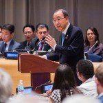 Chefe da ONU lança primeiro relatório para acompanhar os objetivos de desenvolvimento sustentável