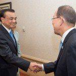 Șeful ONU, Ban Ki-moon, elogiază conducerea Chinei în agenda 2030 a ONU