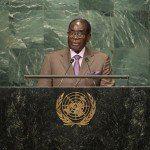Zimbabwes diktator Robert Mugabe fortæller FN: 'Ingen kompromiser' i gennemførelsen af 2030-dagsorden