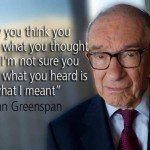 Freaks de Greenspan: los 'locos' minarán el nuevo orden mundial