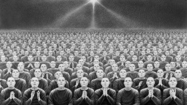Drawing on paper by Laurie Lipton