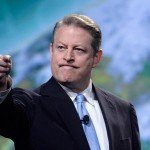 Al Gore Campaigns: Declares Climate Change War On Donald Trump