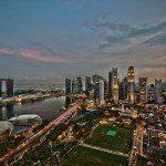 """Singapore tävlar om att bli världens första """"smarta stad"""""""