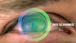 Iris scan