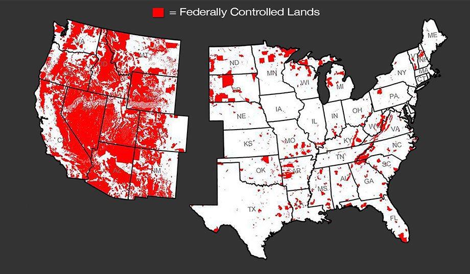 Federalt kontrollerat land
