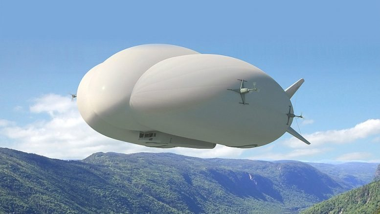 floating blimp