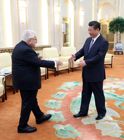 Kissinger meets Xi