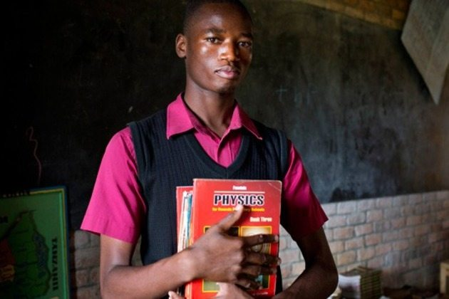 student with textbooks