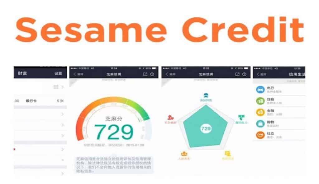 soziale Kredit-Score