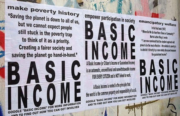 universal basic income poster