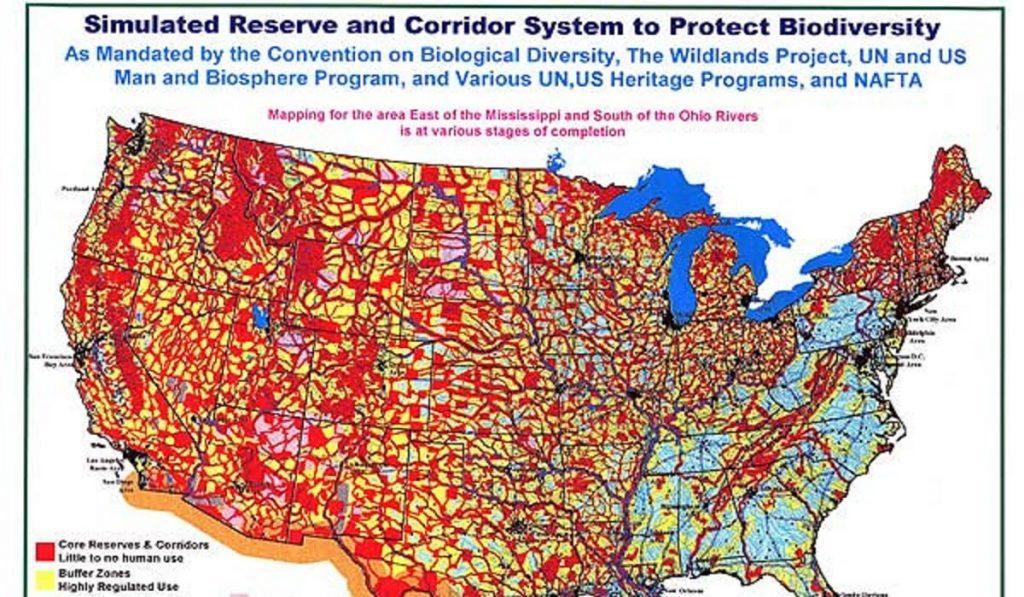 biodiversity map