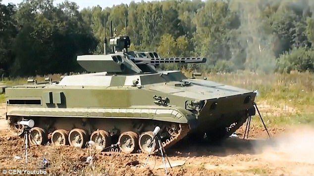 vikhr tank