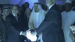 Trump and the Glowing Orb