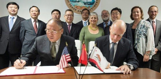 Jerry Brown in China