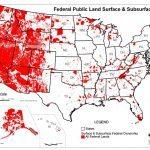 Den føderale regering ejer mere end 60 Procent af tre vestlige stater