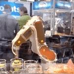 Roboterbetriebenes Restaurant einen Schritt näher am Dumping von Fast-Food-Arbeitern