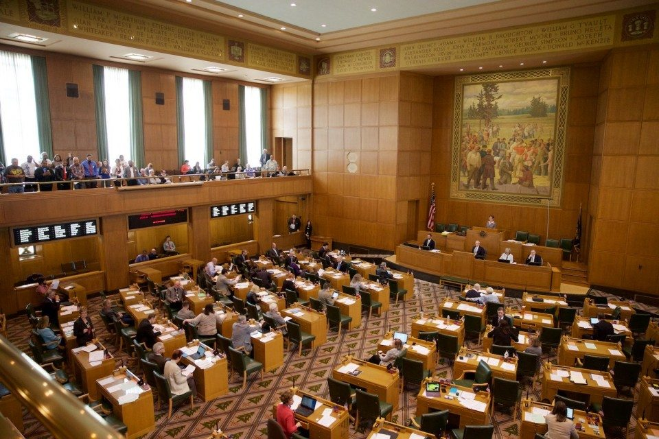 Oregon senate