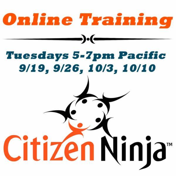 Citizen Ninja Training