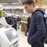 Chatty Russian Supermarket Robots Use Facial Recognition, AI To Help Shoppers