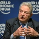 George Soros kommentarer levereras till World Economic Forum, Disses Social Media