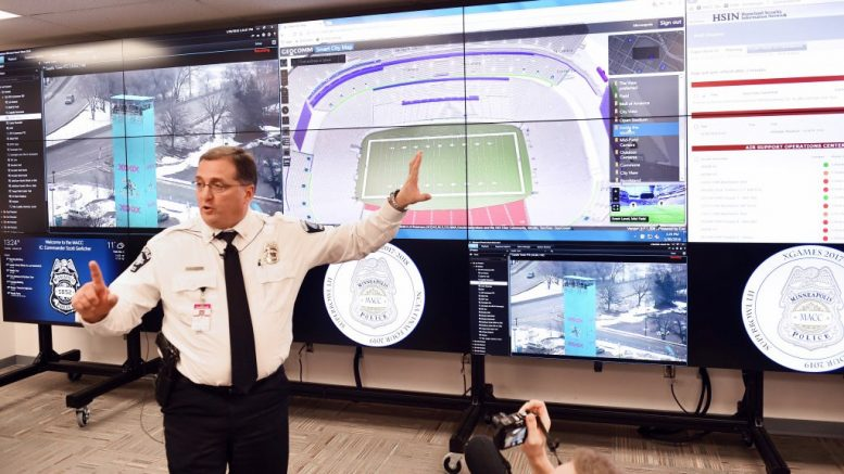 Super Bowl Will Be Monitored By Thousands Of Security Cameras