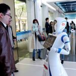 Robots Greet Customers At First Personless Bank