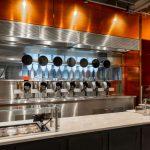 Roboter haben die Köche im Boston Restaurant ersetzt