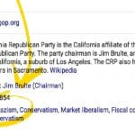 Hate: Google Listed 'Nazism' As The Ideology Of California Republican Party