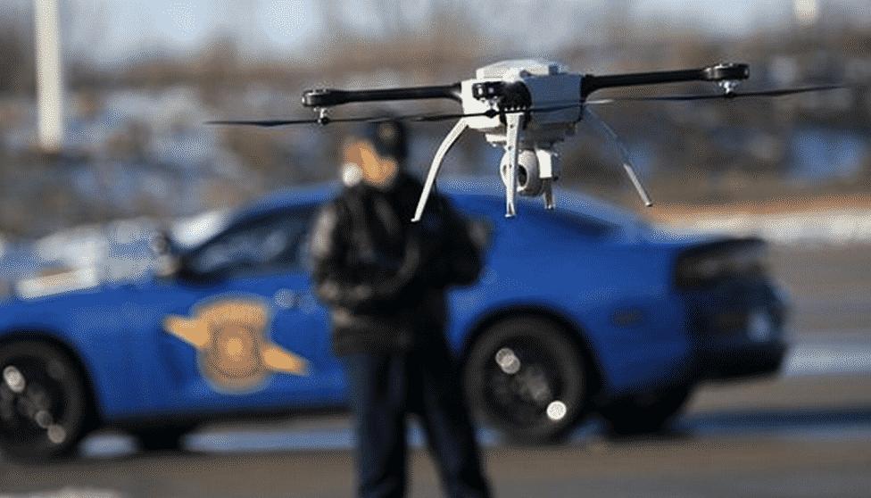 Cheap Drones, AI, Make Drone Surveillance Ubiquitous