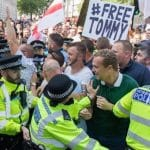 Tommy Robinson: Free Speech is kritisch gewond in Londen