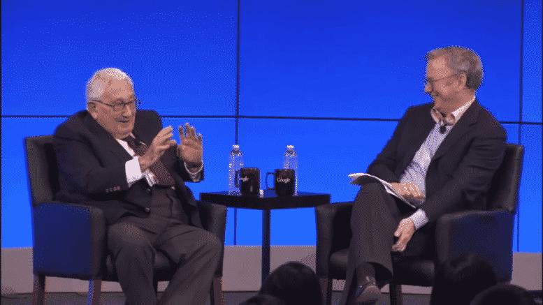 """Kissinger & Schmidt: Trilaterale Kommissare verkünden """"unsere menschliche Zukunft"""""""