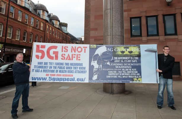 Britain's First 5G Court Case and the People Won