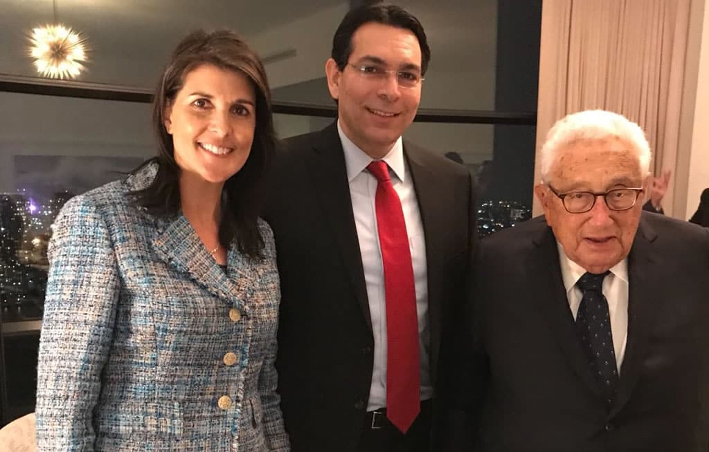 UN Ambassador Nikki Haley Was Mentored Every Two Months By Trilateral Commissioner Henry Kissinger