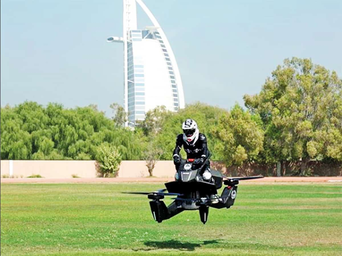 Dubai Police To Launch Flying Bikes By 2929