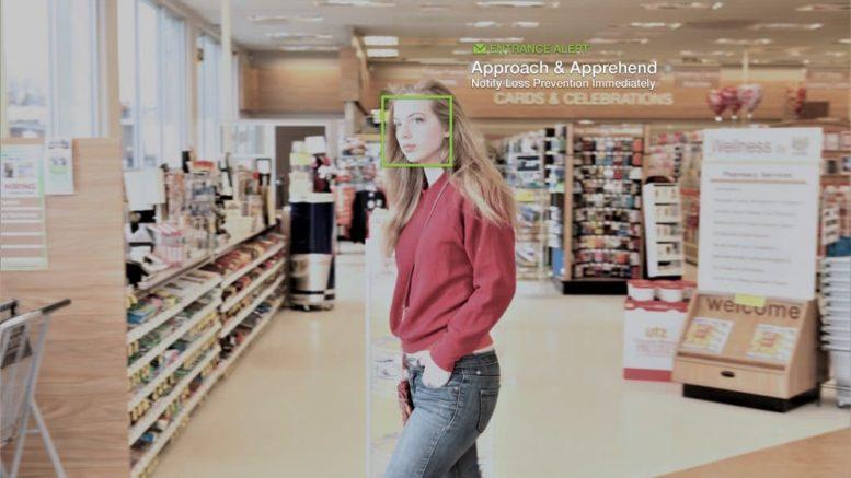 Bilderesultat for kina shopping ansiktsgjenkjenning