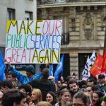 De franske demonstranter er en del af global tilbageslag mod globalisering