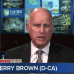Jerry Brown compara el calentamiento global con la lucha contra los nazis en la Segunda Guerra Mundial
