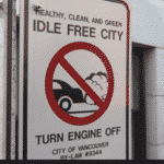 Green Madness: Hefty Fine If Idle Your Car W Vancouver, BC