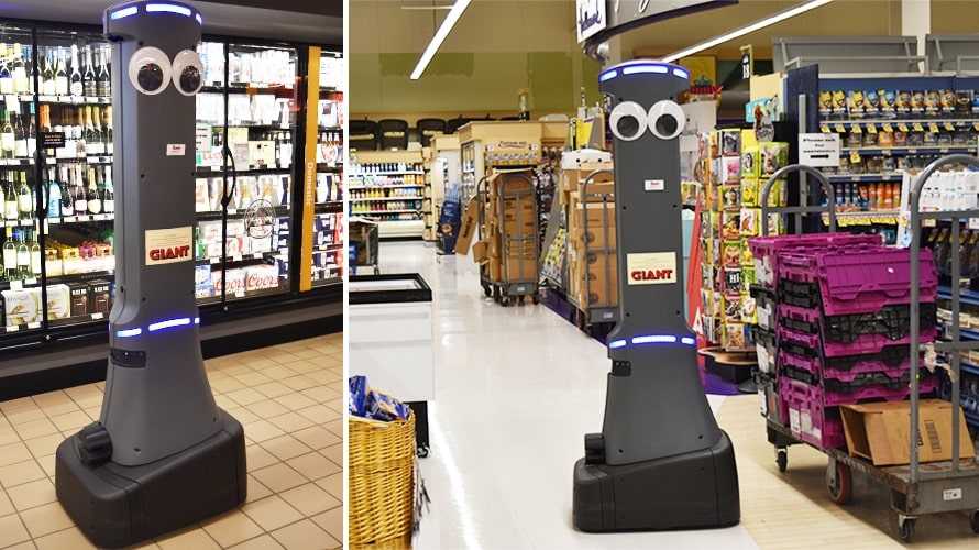 Giant Grocery Chain To Rollout Robots To 500 Stores