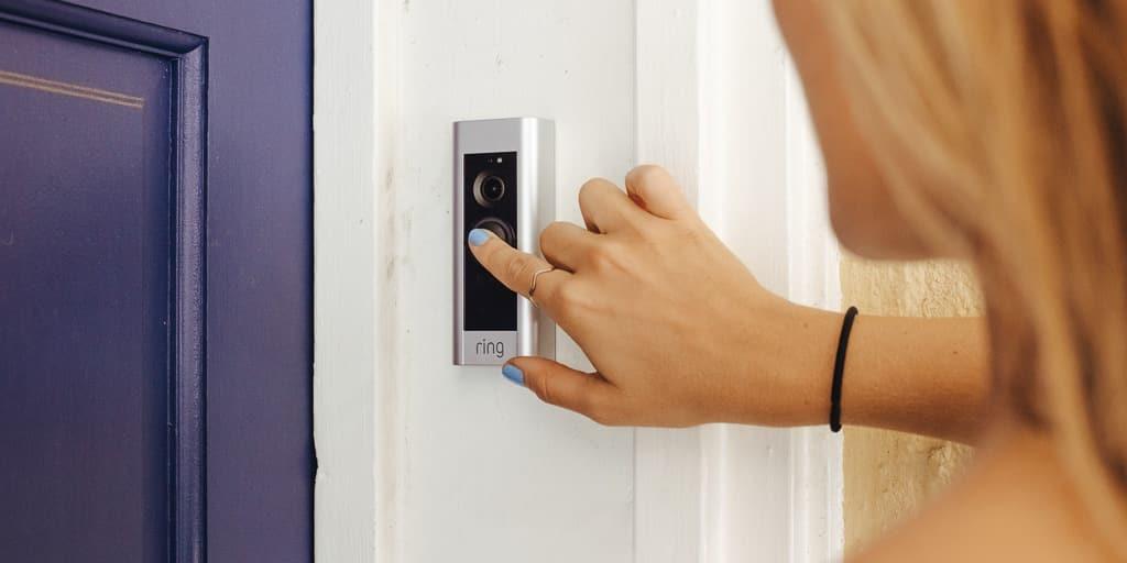 Кольцевой дверной звонок камеры