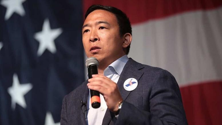 Andrew Yang Techno-populiste