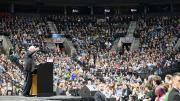 Bernie Sanders Kundgebung in Portland