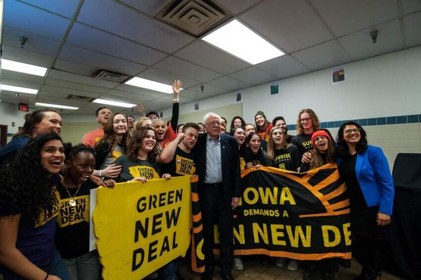 Bernie Sanders Green New Deal