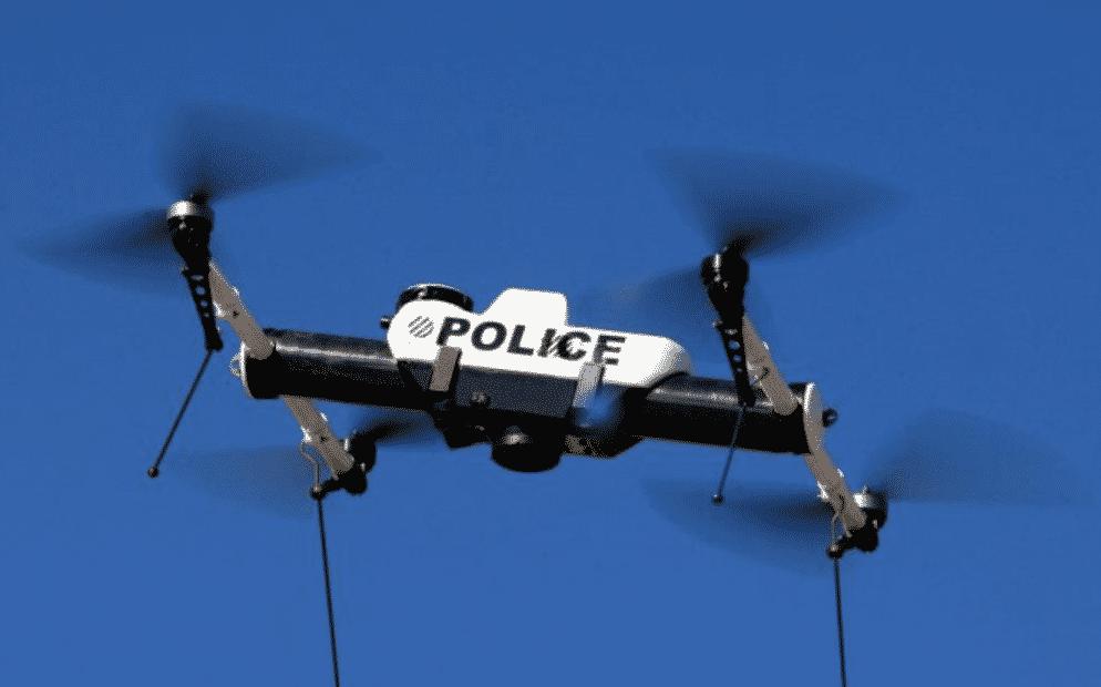 DVI-politiets drone